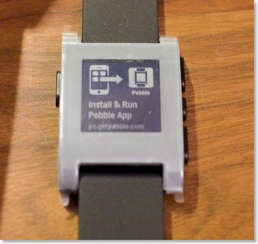 pebble 決定ボタン 効かない ファームウェア